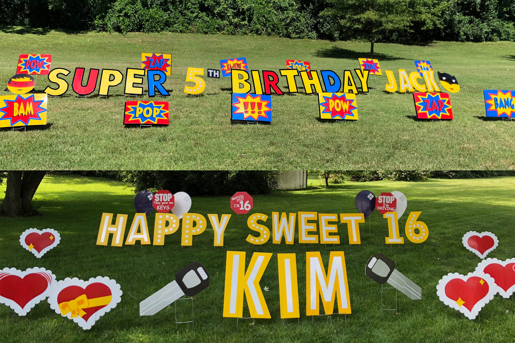 Happy Birthday & Create Your Own